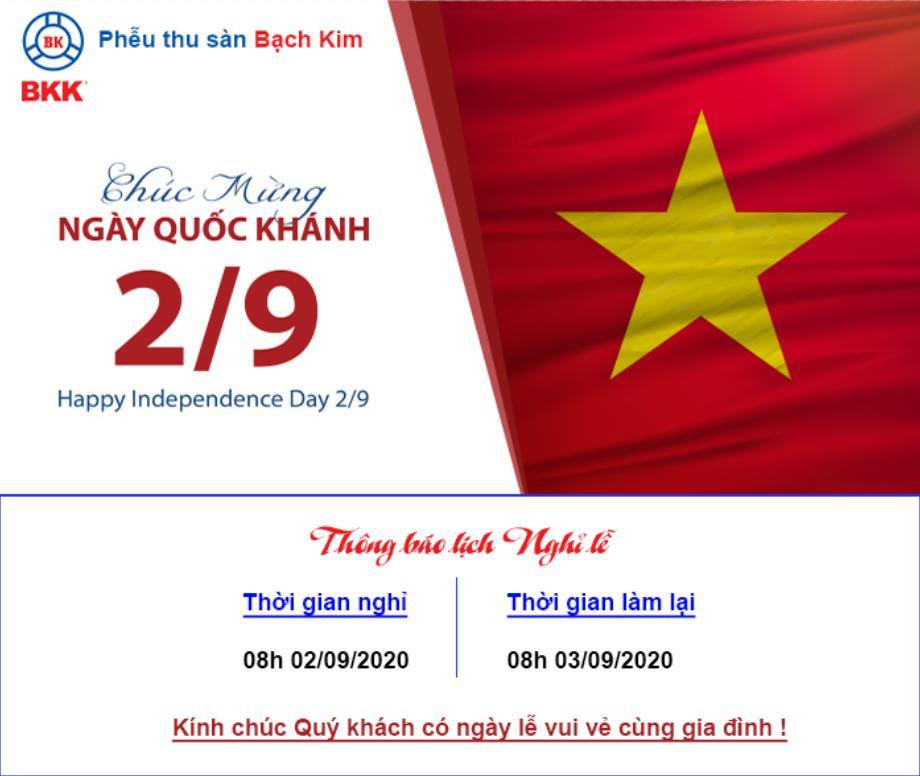 thong báo nghi le quoc khanh 2/9